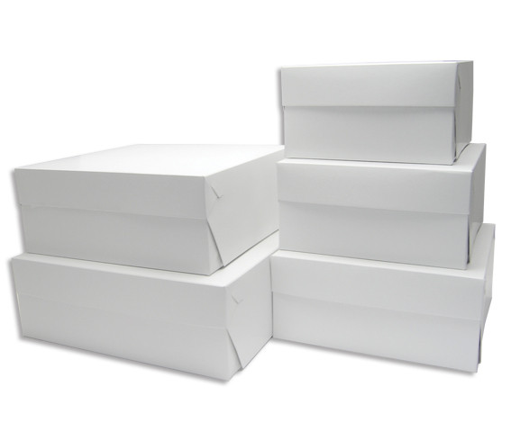Krabice na dorty, zákuskové nosiče